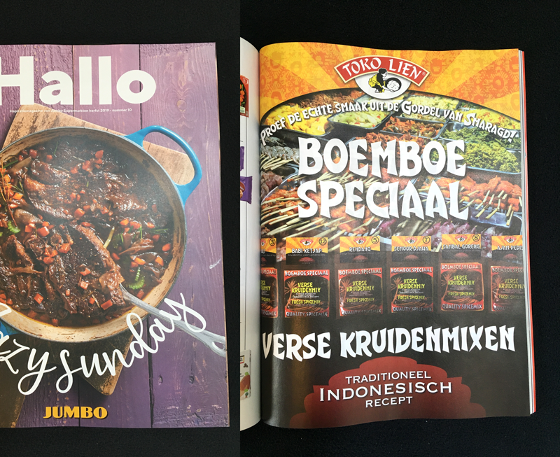Jumbo Magazine: advertentie Tokolien